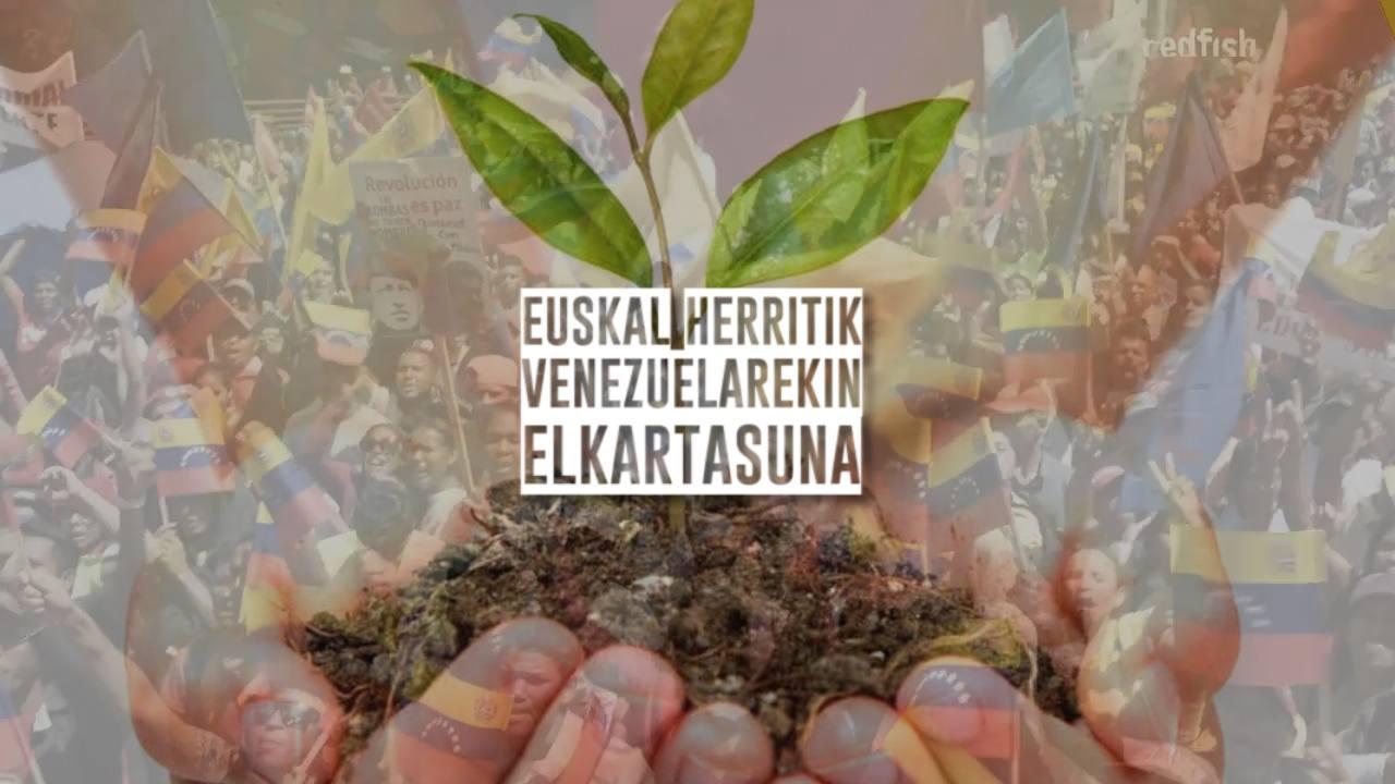 Venezuela elkartasuna hasierakoa zabala